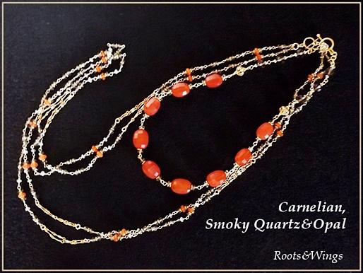 カーネリアン 〜豊かな創造性と活力溢れるオレンジカラーの石〜