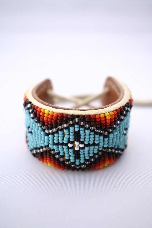 beaded beads bracelet ビーズブレスレット