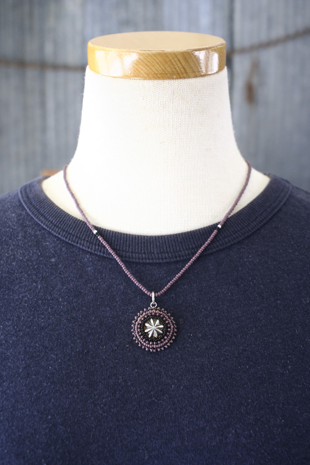 beads necklace  ビーズネックレス