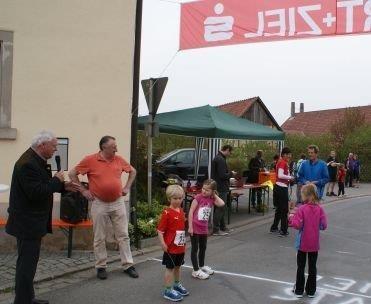 Start durch Bürgermeister Helmut Fischer