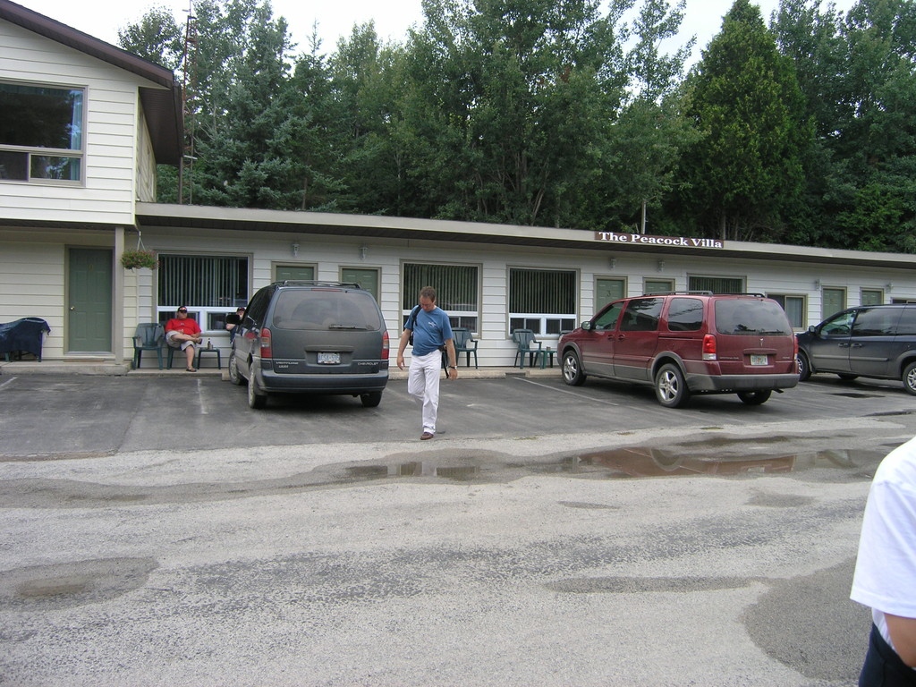 Unser Motel in Tobermory