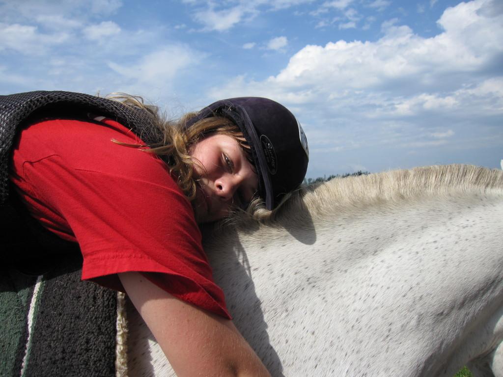Das Glück der Erde, liegt auf dem Rücken der Pferde