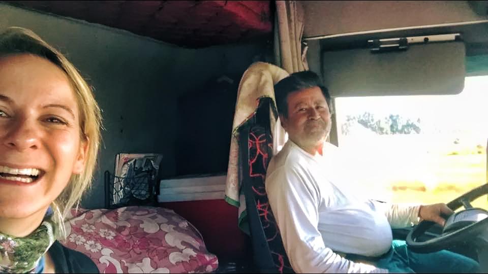 Mein creepy Zwiebel-LKW-Fahrer