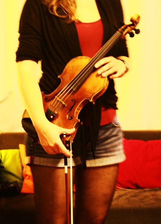 STREAM - Geige