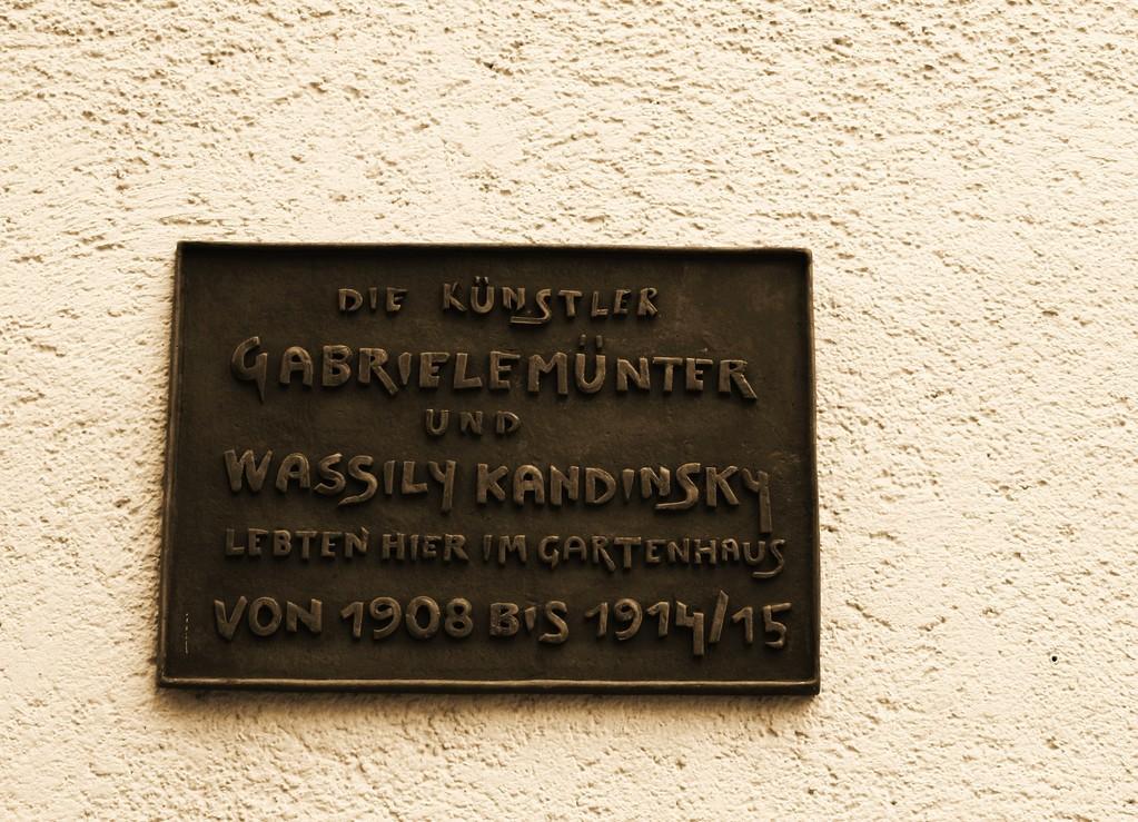 """Tour durch """"Wahnmoching"""" - Kandinsky/Münter Haus"""