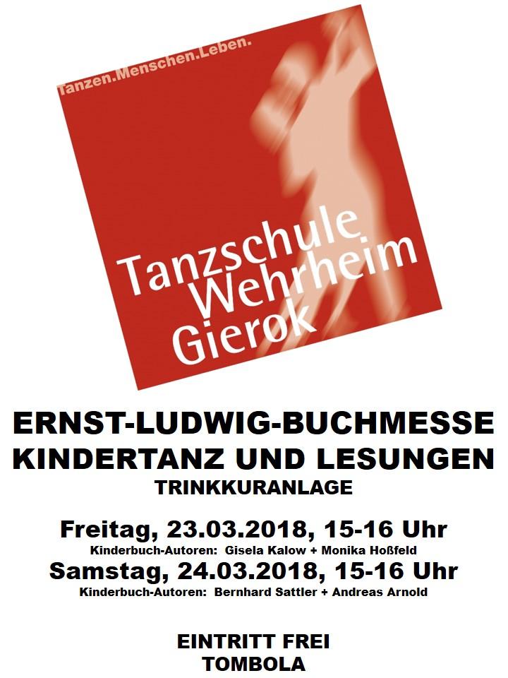 Partner der Ernst-Ludwig-Buchmesse 2018: TANZSCHULE WEHRHEIM GIEROK - Die Tanzschule ist ein Mitglied der Gemeinschaft der Trinkkuranlage
