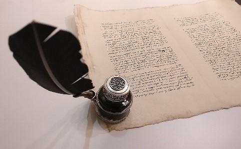 Papier und Feder, Foto: Beatrix van Ooyen