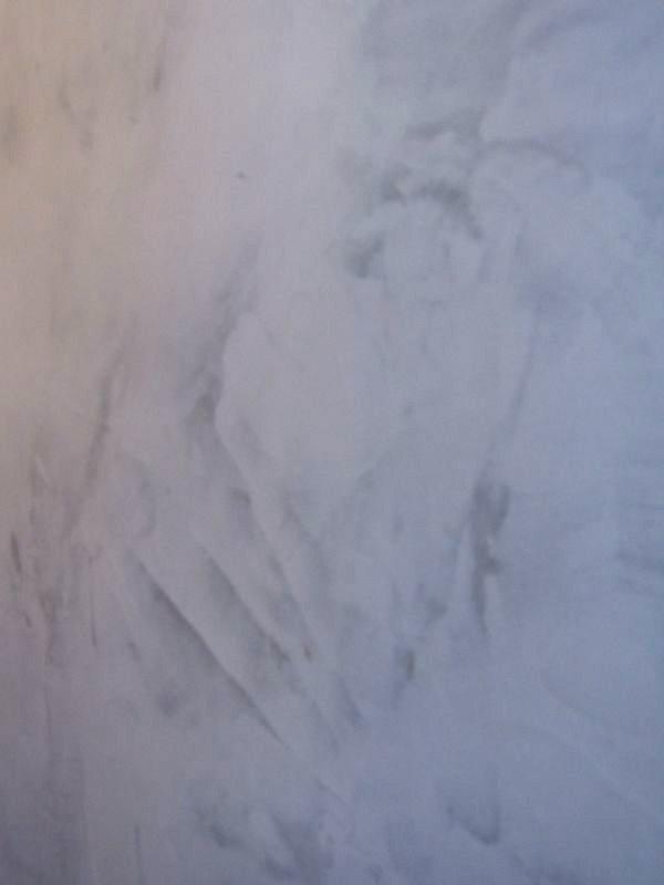 Zoom sur stuc gris