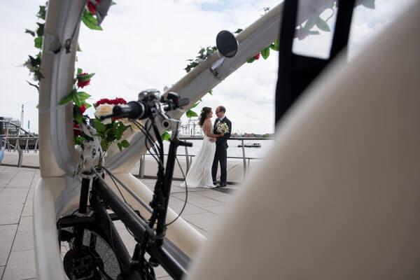 Hamburg, Hochzeit, Rikscha, Hochzeitsrikscha 6