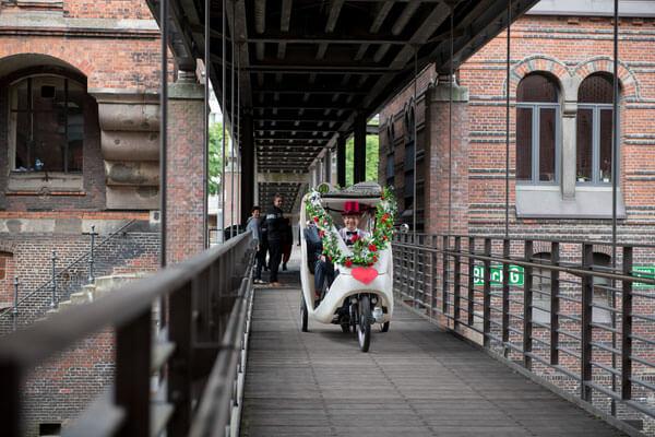 Hamburg, Hochzeit, Rikscha, Hochzeitsrikscha 5