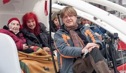 Esther Bejarano, Hamburg by Rickshaw, © Christoph Pawlik III