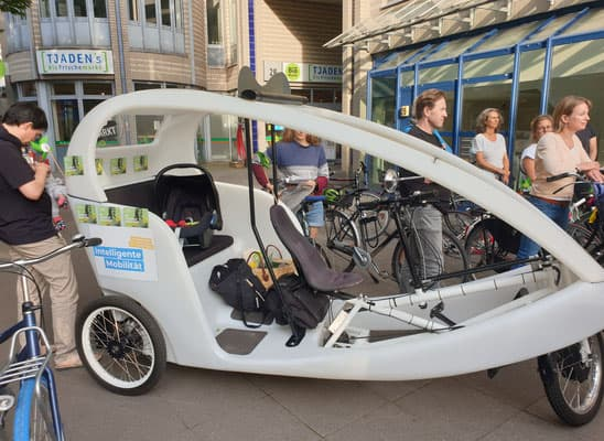 Hamburg by Rickshaw 13.08.2021 - Das Katha-Mobil 1