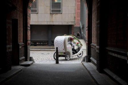 Hamburg, Hochzeit, Rikscha, Hochzeitsrikscha 3