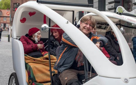 Esther Bejarano, Hamburg by Rickshaw, © Christoph Pawlik IV