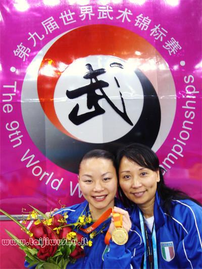 Nella foto: Campionessa Mondiale Xu Huihui e M* Xu Guan Guan