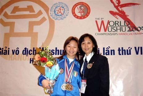Campionato Mondiale di Wushu - Hanoi, Vietnam 2005
