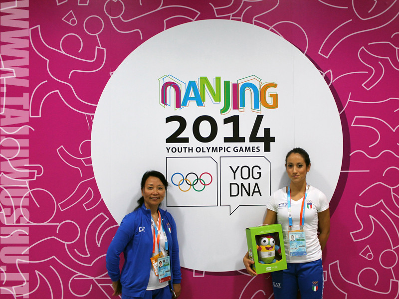 Torneo di Wushu - Olimpiadi Giovanili di Nanjing, Cina 2014