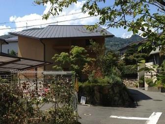 生駒山麓の家