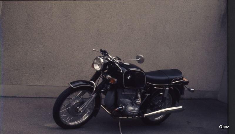 BMW R 75/5 gekauft 1972 bei Ludwig Sperry St. Gallen