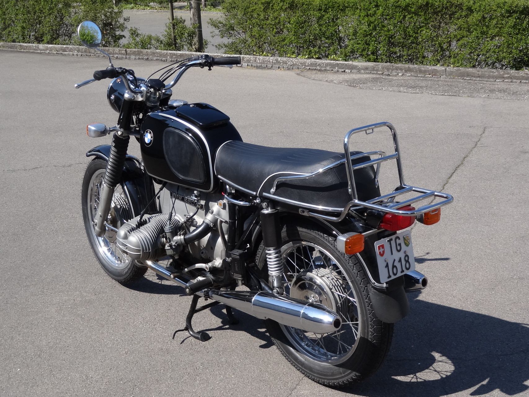 BMW R60/5 Jg. 1972  Privatkauf