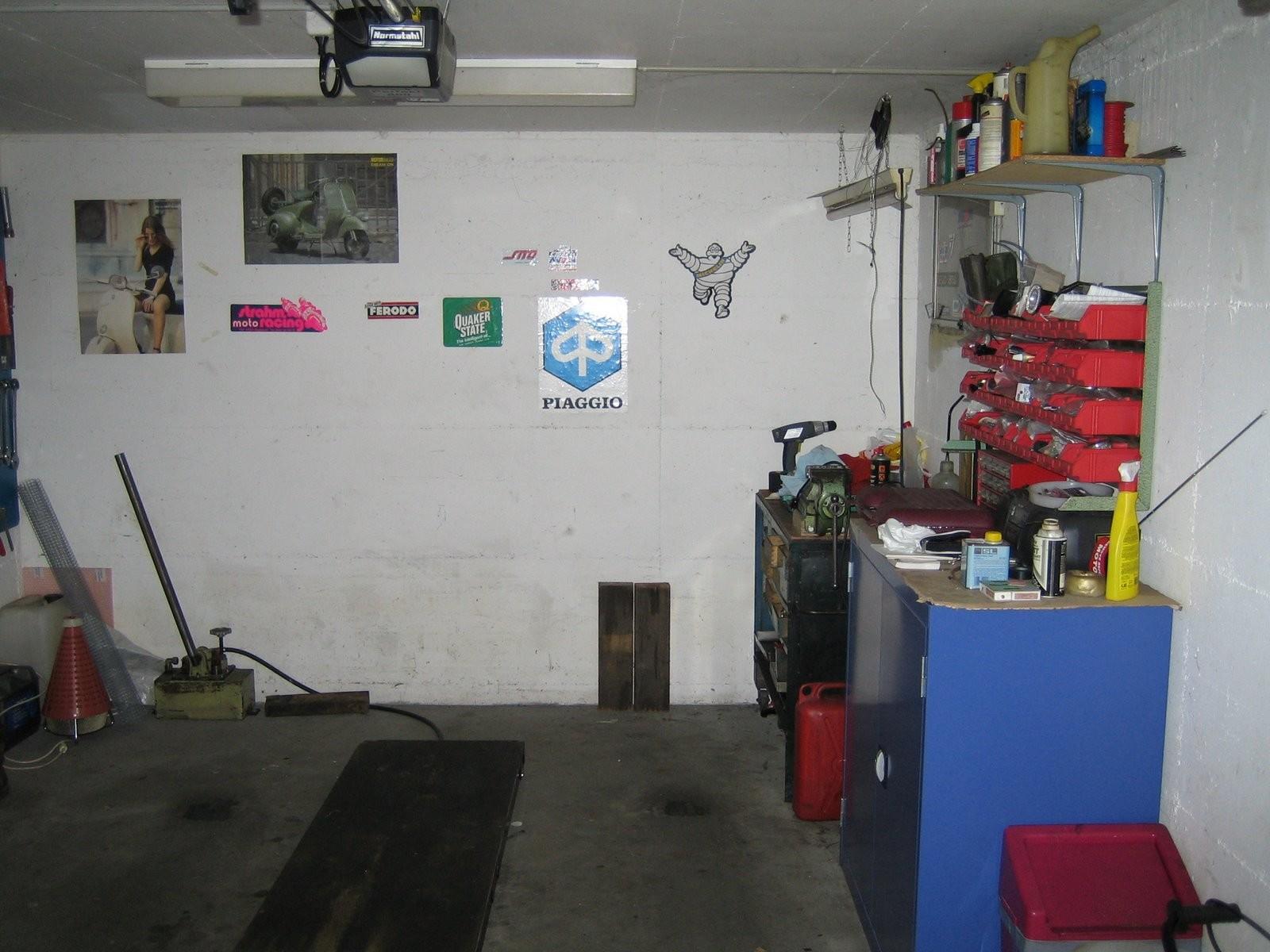 Meine erste Werkstatt