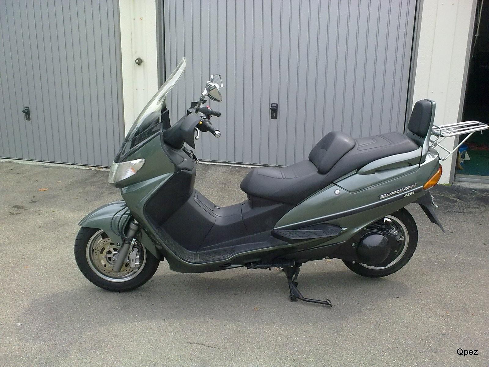 Suzuki Burgmann 400 Privatkauf