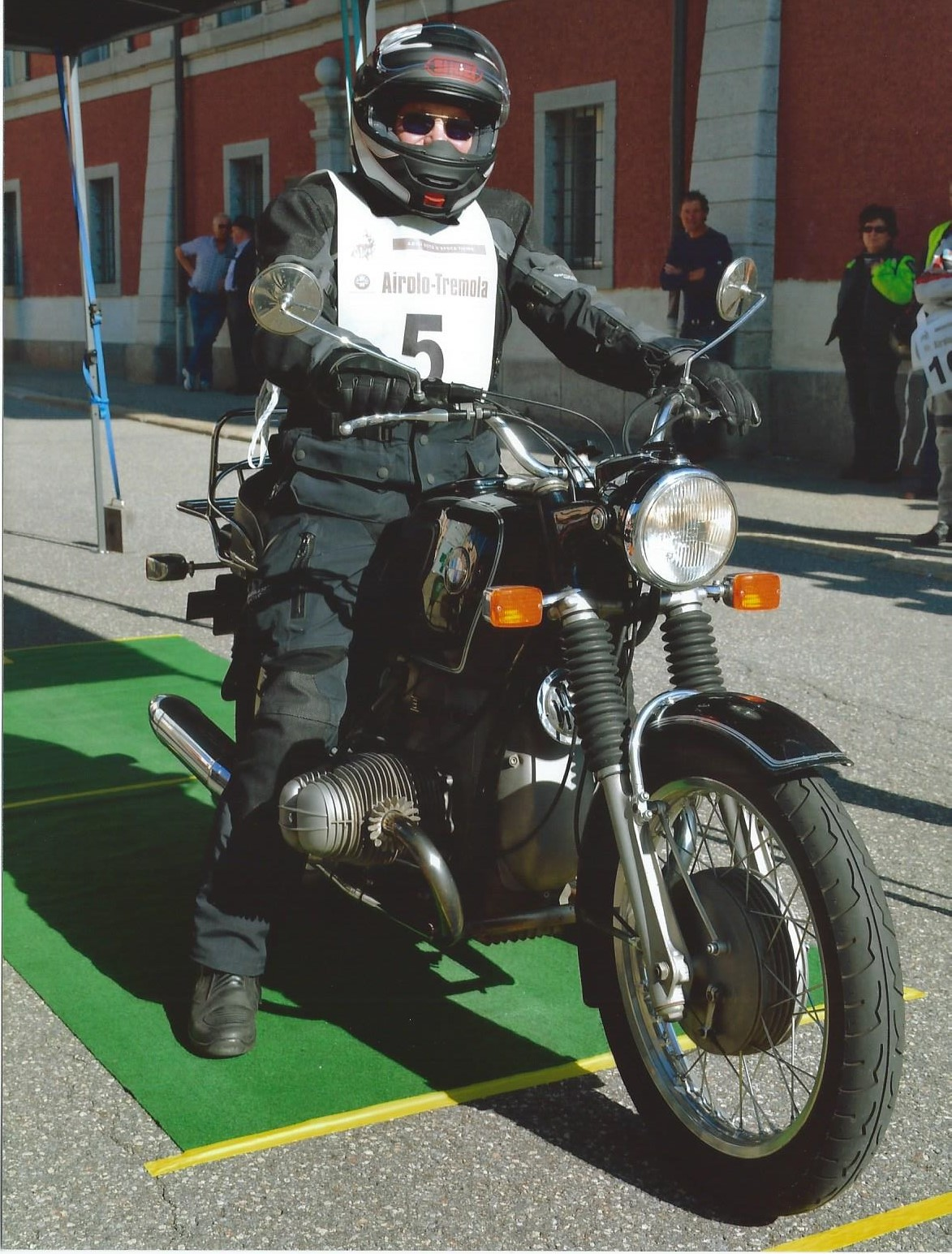 Start Tremola 2019 mit BMW R 60/5