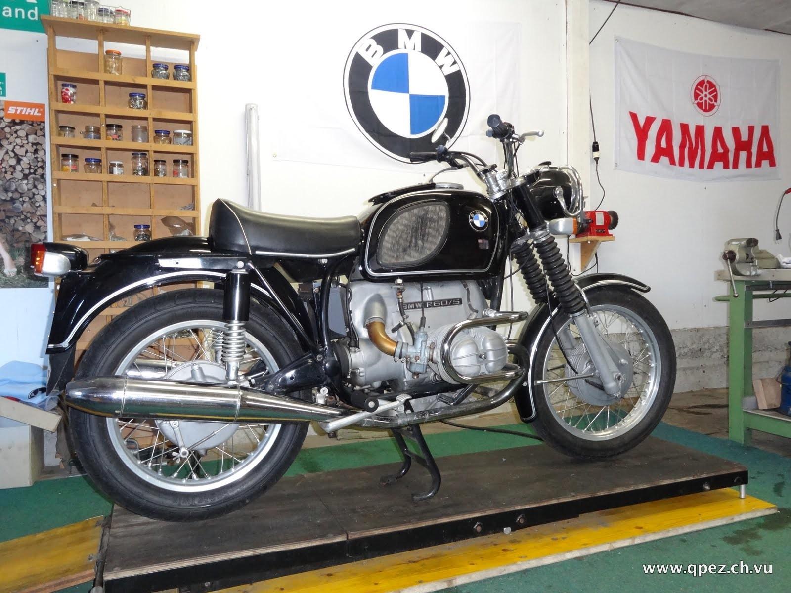 BMW R 60/5 wie gekauft