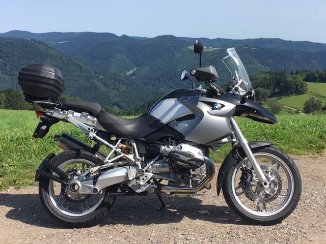 BMW R 1200 GS Jg. 2007  Gekauft Privat in Davos mit 36500 Km