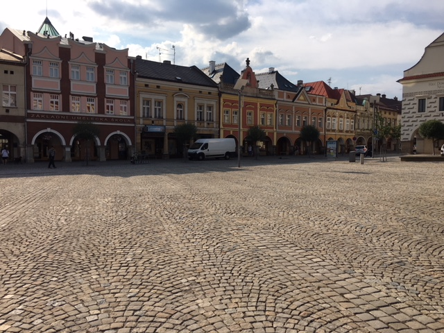 Stadtplazt von Königinenstadt