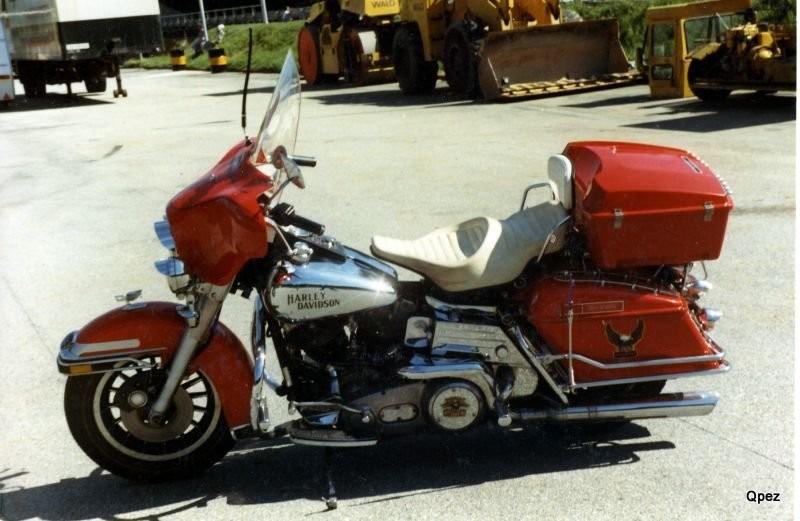 Harley Davidson E Glide Gekauft 1979 bei Otto von Arx Trimbach