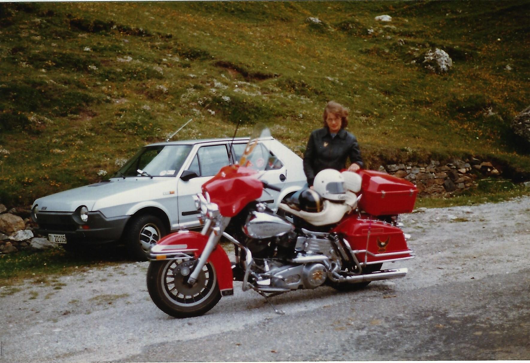 1979 mit Gabi meiner späteren Frau