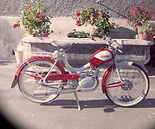 Mit diesem Gallus Moped fing es 1967 an
