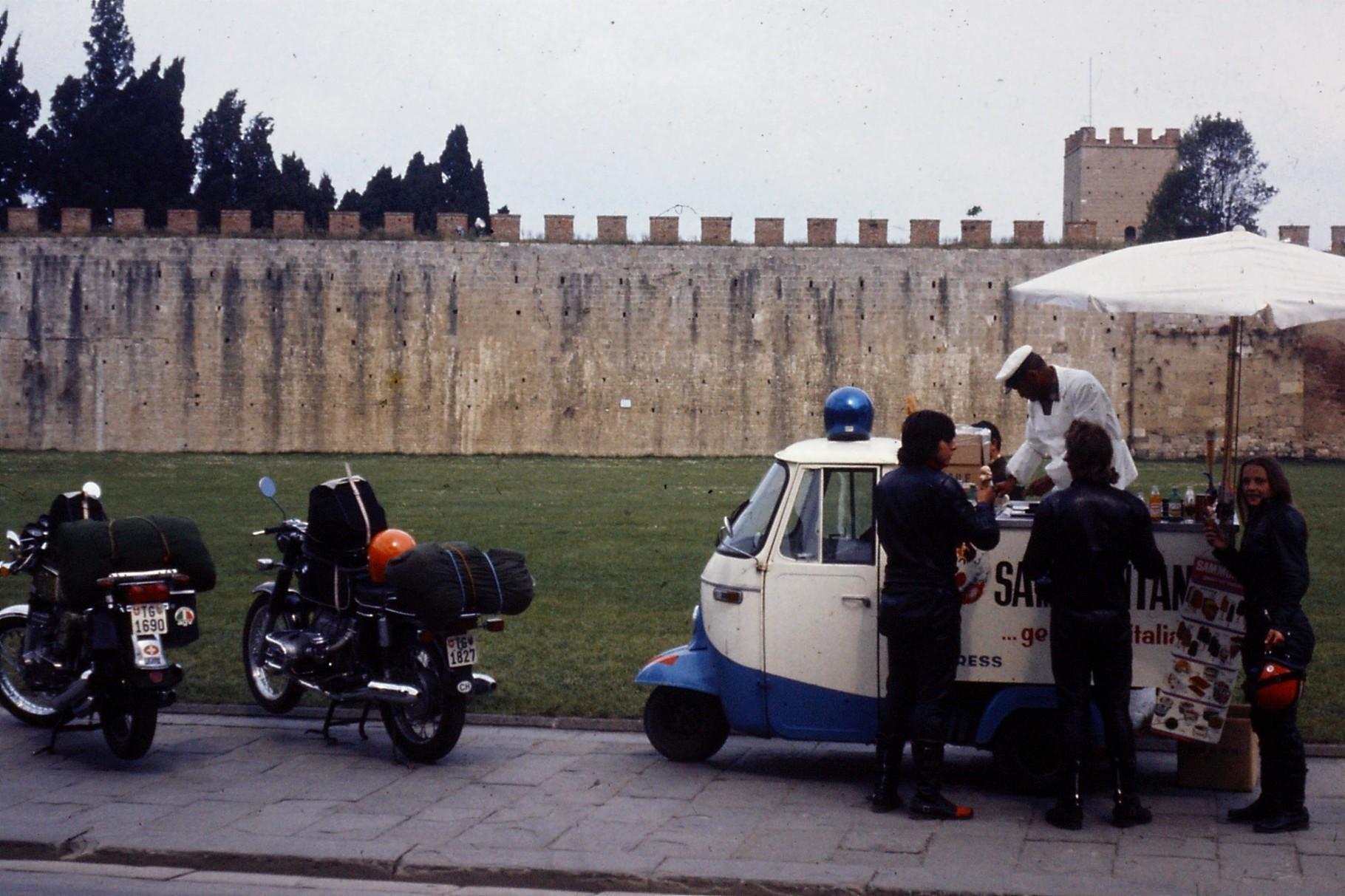 Glace Essen in Pisa