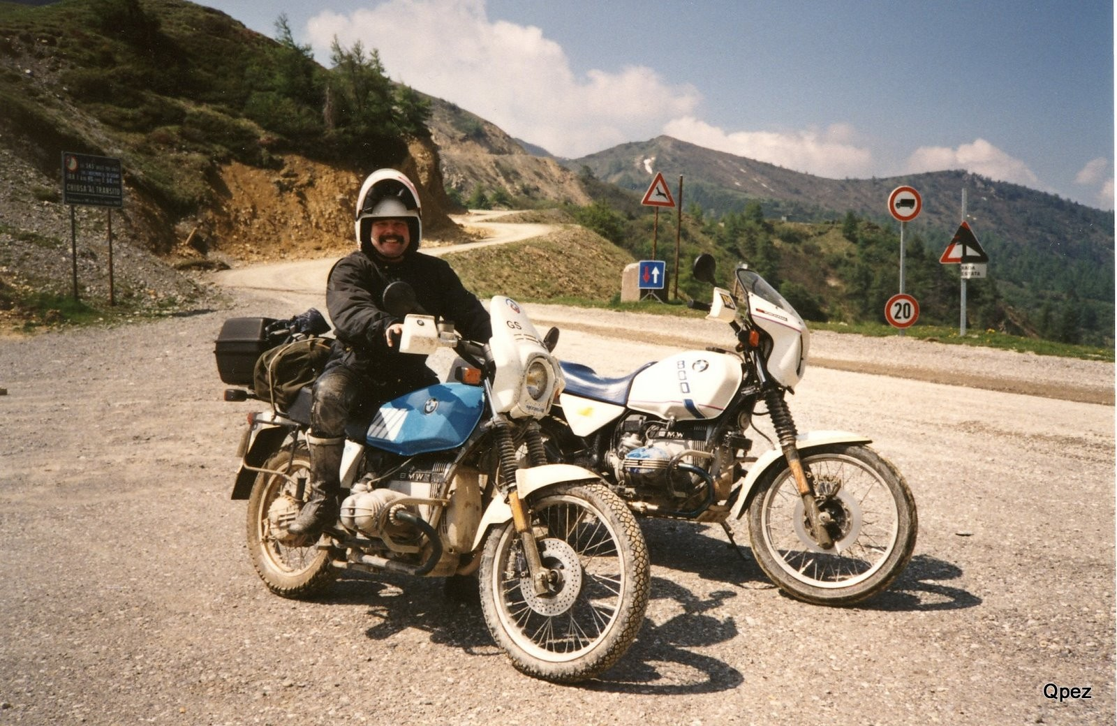 BMW R 80GS am Croce Domini
