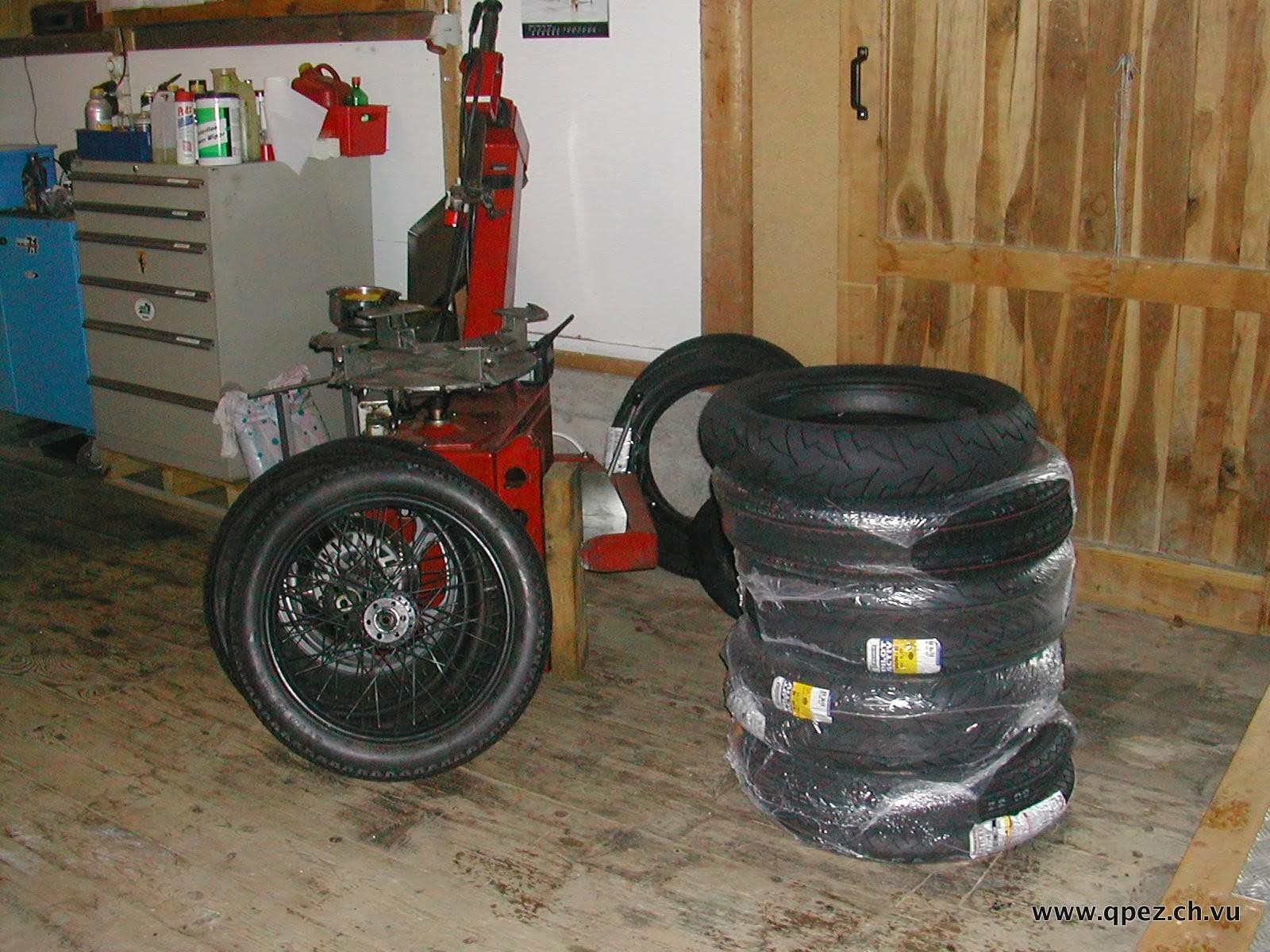 Grossbestellung für unsere Motorräder