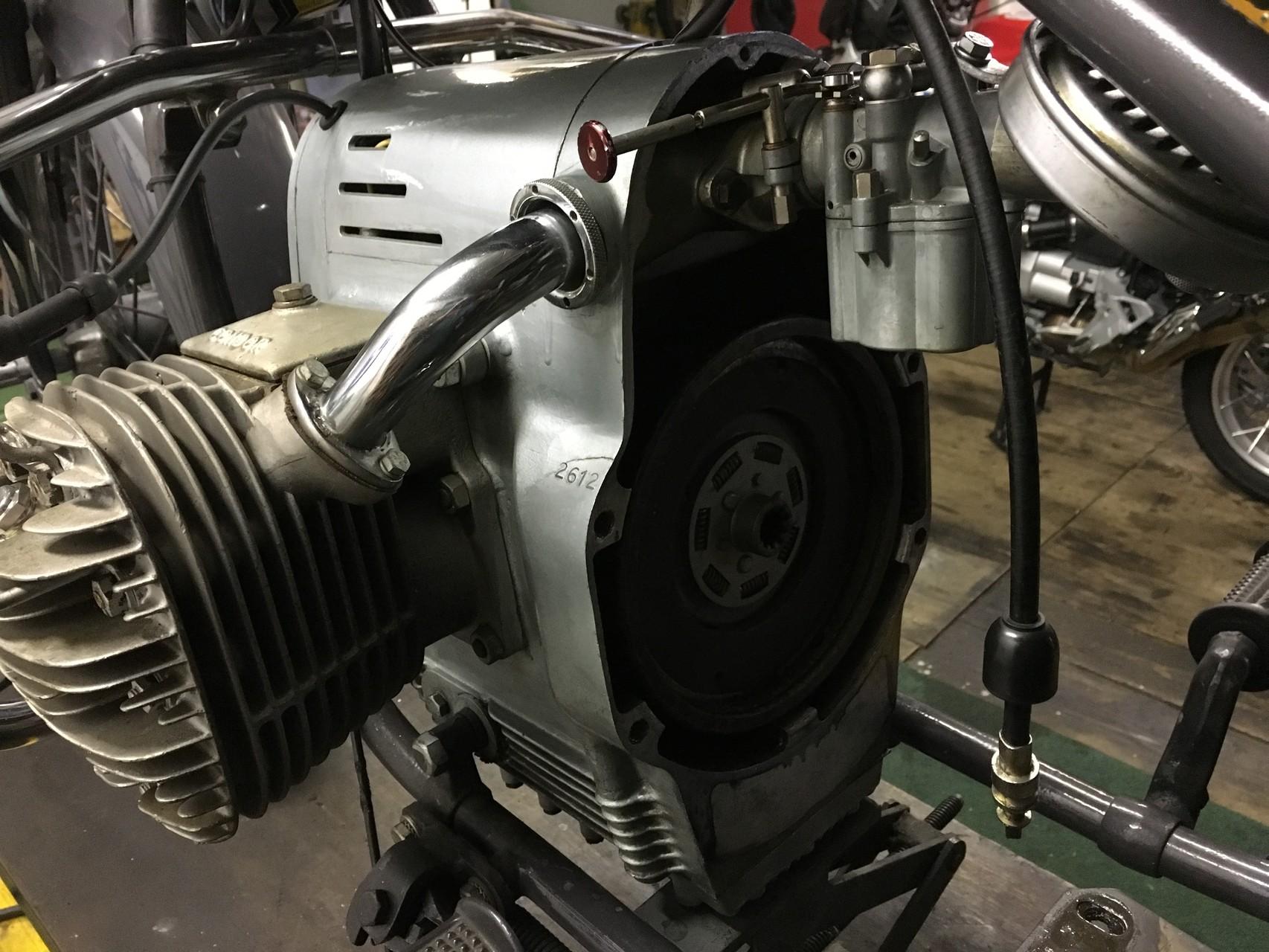 Getriebeausbau A 580-1