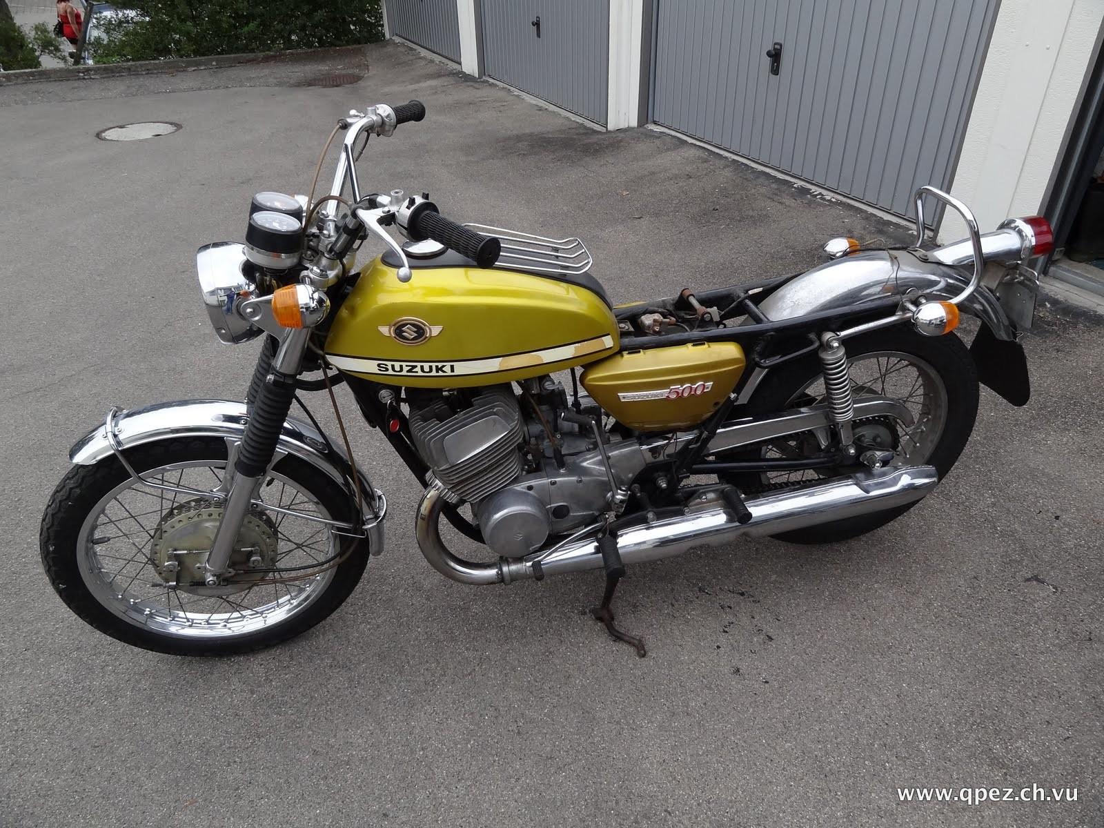 So habe ich meine Suzuki T 500 gekauft