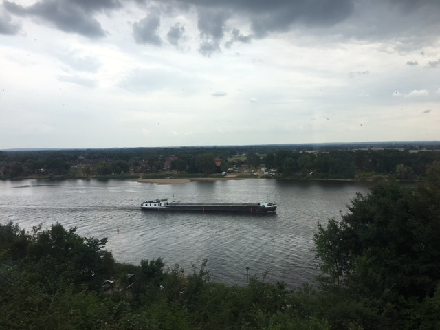 Elbe in Lauenburg