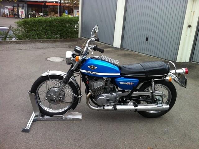Suzuki T500 Jg. 1970 Privatkauf