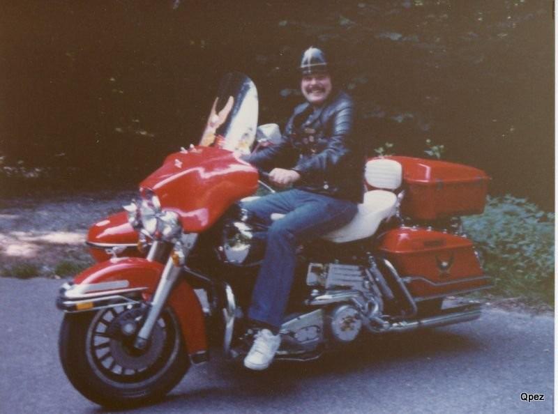 Harley nach Umbau mit Seitenwagen und Retourgang