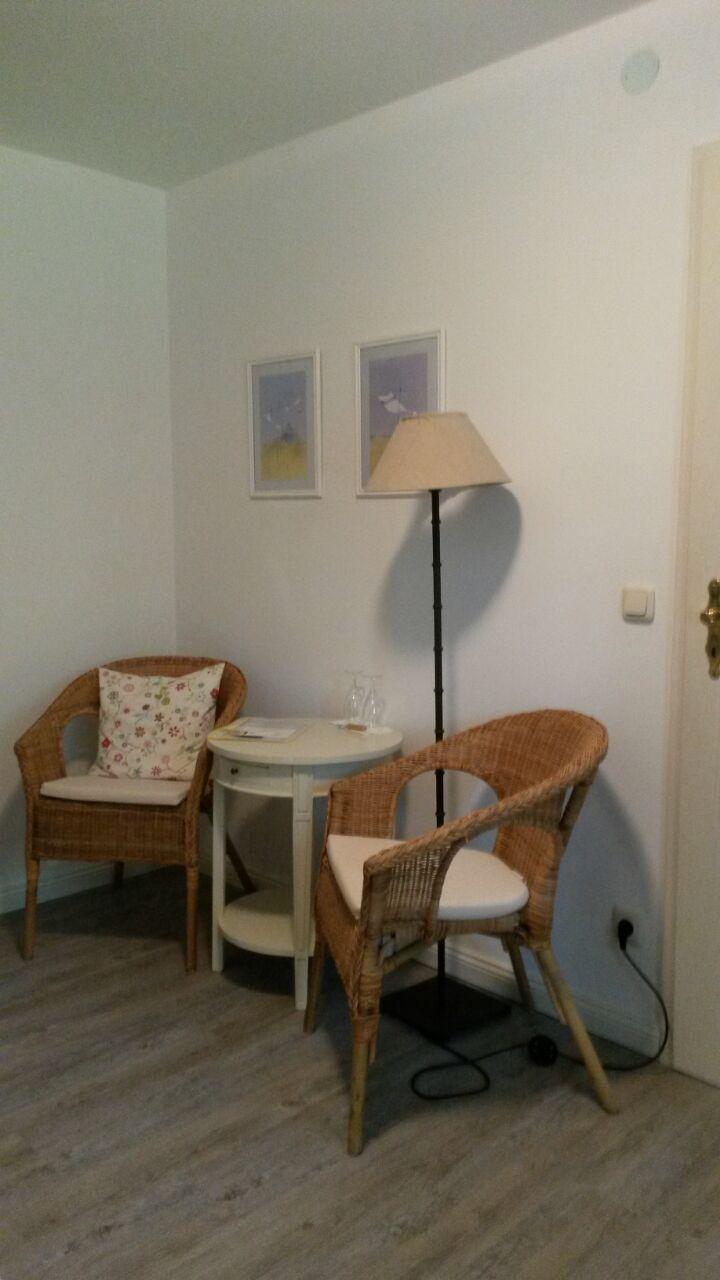Doppelzimmer Nr. 6 - Sitzecke