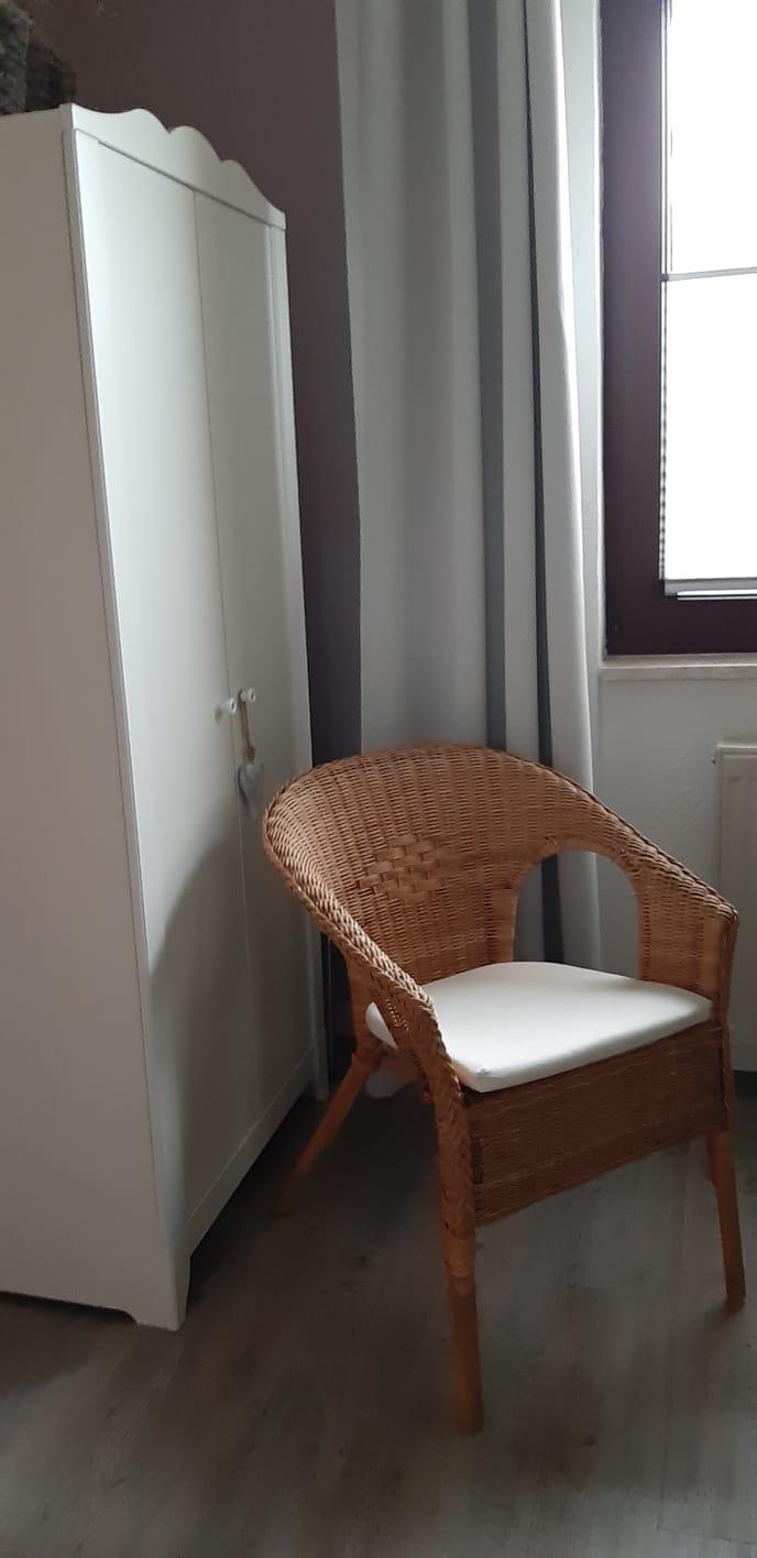 Einzelzimmer Nr. 10 - Sitzecke