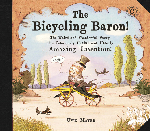 The Bicycling Baron. Cover