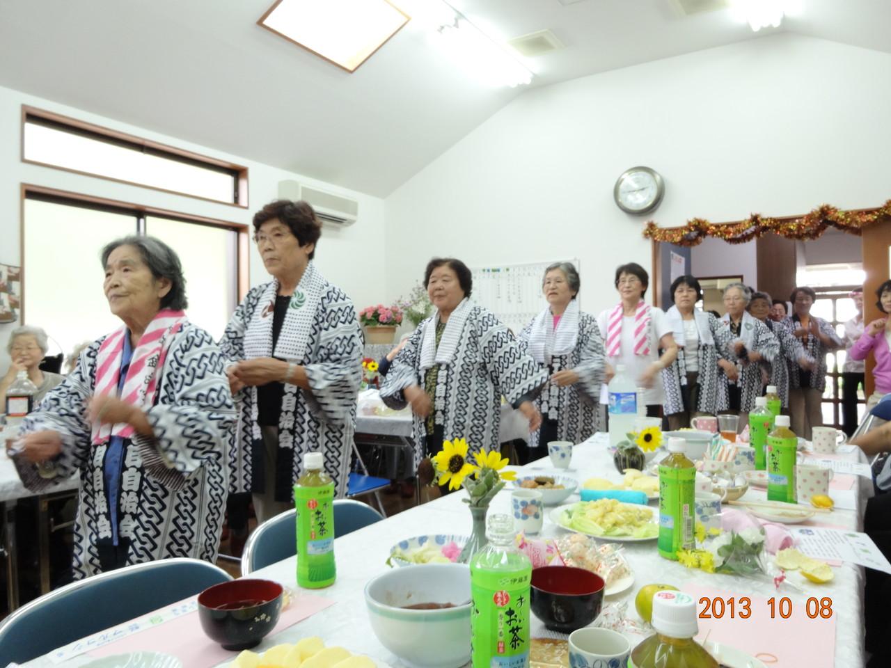 10月文化祭きよしのズンドコ節