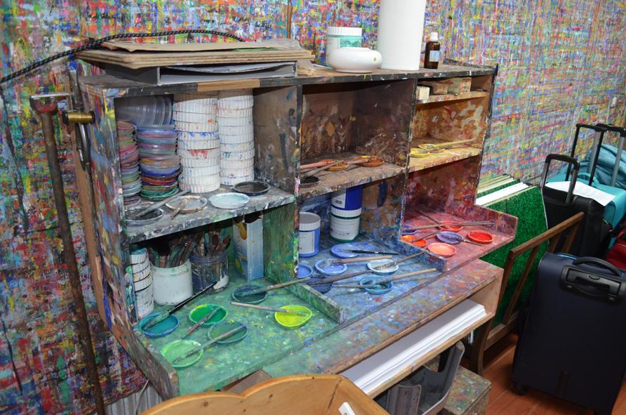 Das Farbmischtischchen