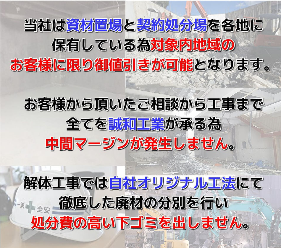 江戸川区,解体工事