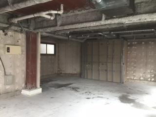 中央区店舗,テナント,原状回復,解体,スケルトン
