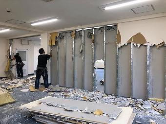 渋谷区の天井,解体費用