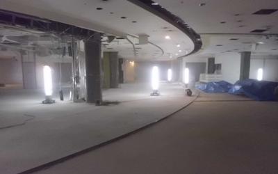 中央区,店舗,テナント,原状回復,解体,設備撤去
